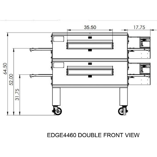 Edge 4460 Double view