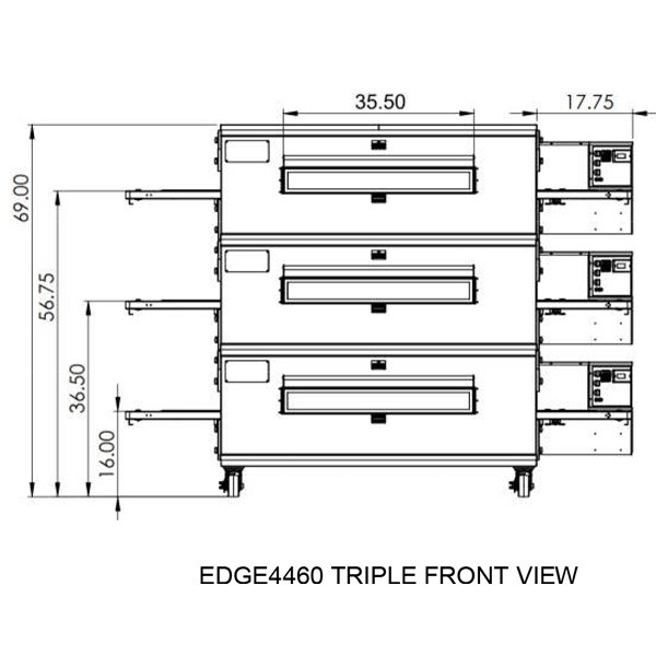 Edge 4460 Triple view