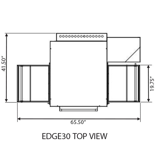 Edge 1830 Top View