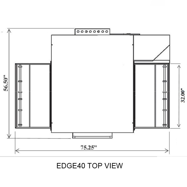 Edge 3240 Top View