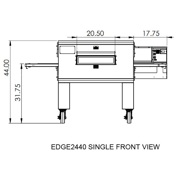 Edge 2440 Single View