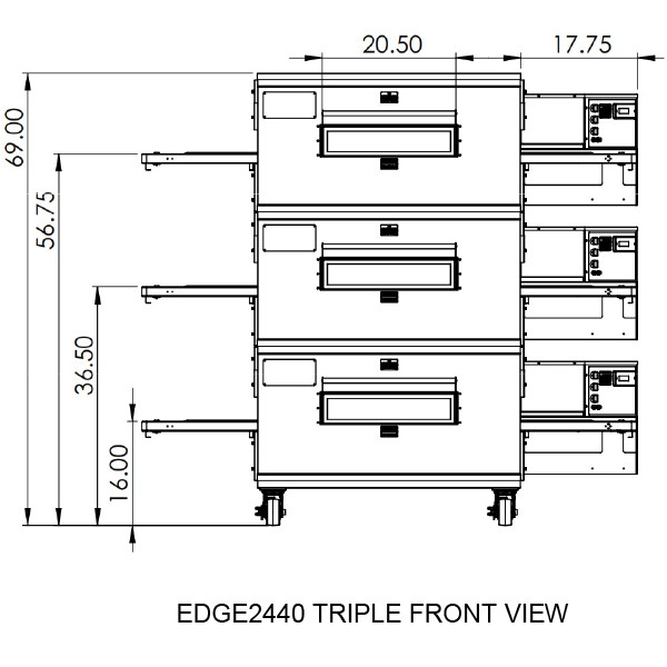 Edge 2440 Triple View