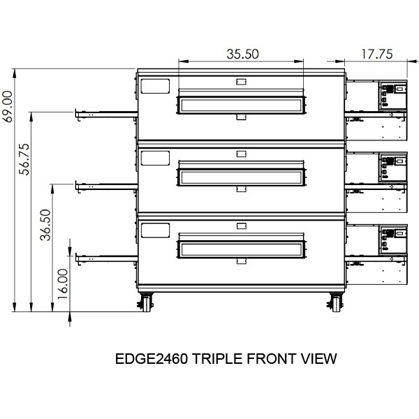 Edge 2460 Triple View