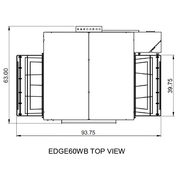 Edge 3860 Top View